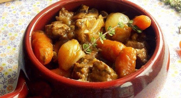 Boeuf bourguignon sans alcool   Le Blog cuisine de Samar