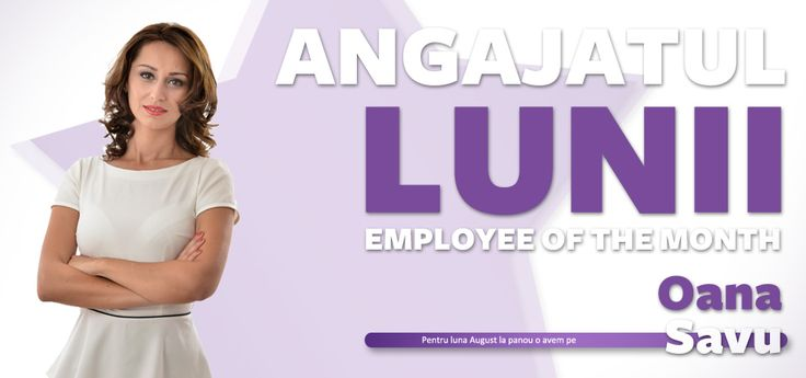 Angajatul lunii august 2013