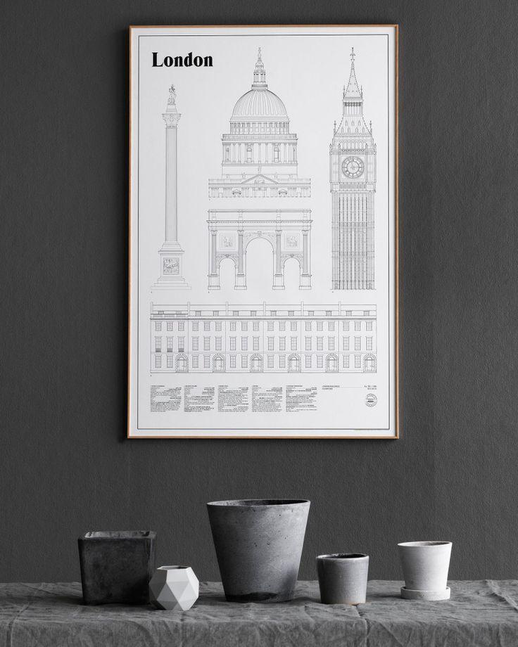 London Elevation Art Print by studio esinam