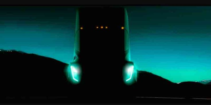 Tesla Semi Teased — Aims To Deliver Sports Car Handling #TeslaSemiTeased #SportsCar