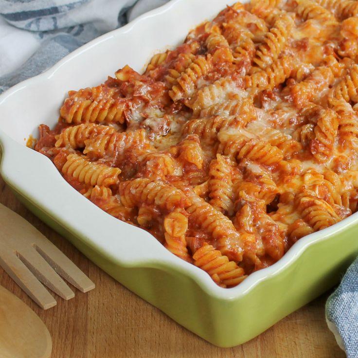 FUSILLI AL FORNO SAPORITI ricetta facile e veloce