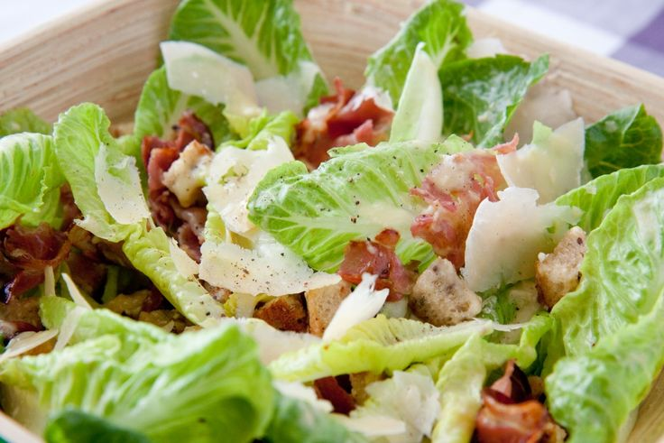 salads recipes with pictures | Caesar salad recipe from the low FODMAP cookbook