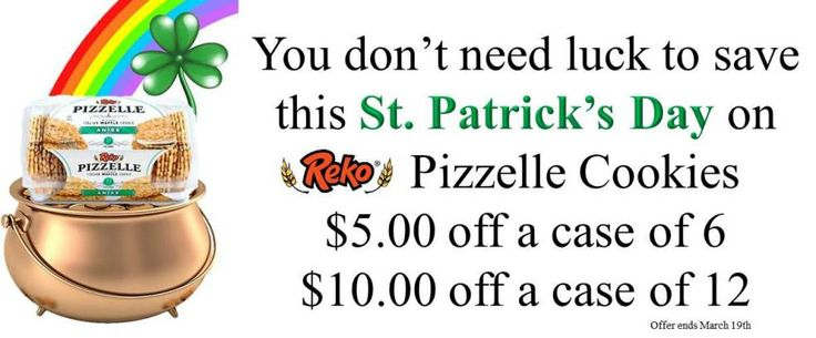 #Repin #pizzellecookies #snack #st.patricksday