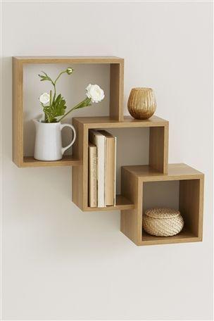 Stanton® Cube Wall Shelf
