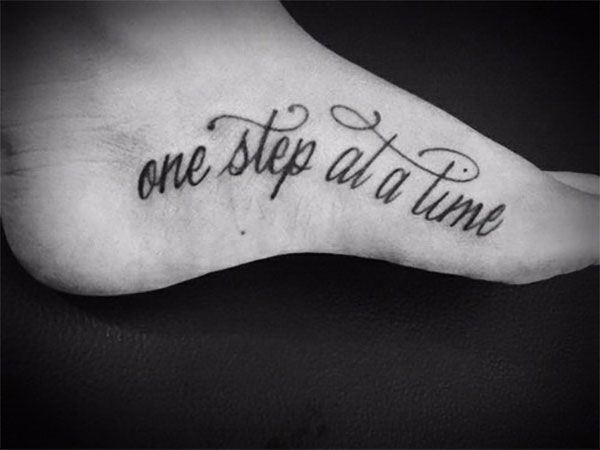 Foot Tattoo Ideas Quotes: Tattoos On Foot: 20 Creative Ideas And Designs