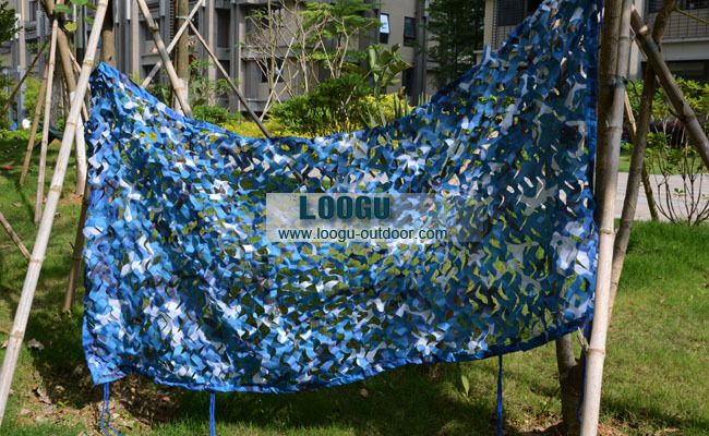 2M*4M Sea Blue Digital Camouflage Netting Military Camo Netting Hunting Camouflage Net As Camouflage Clothing