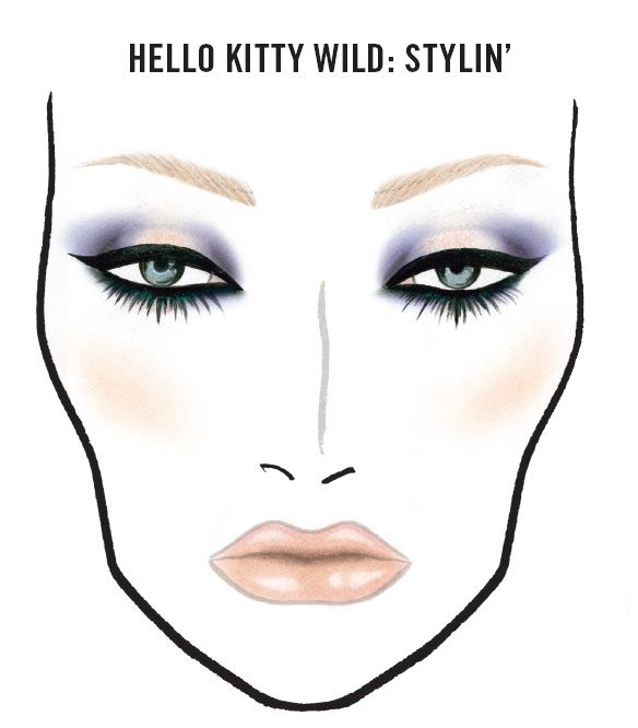 FOTD: MAC Hello Kitty Wild Stylin' Makeup Look - Makeup For Life - Beauty Blog, Makeup Tutorials, Product Reviews, Swatches, Celebrity Makeup