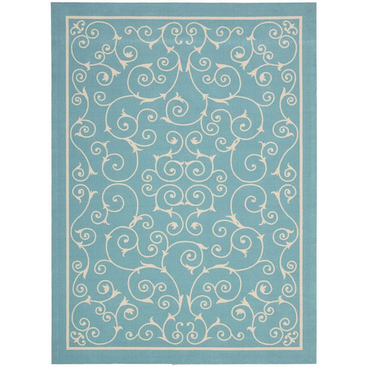 Nourison Home and Garden Light Rug