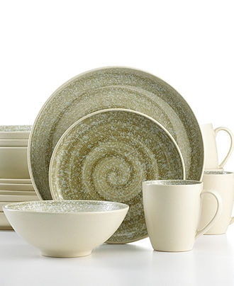 Sango Dinnerware, Soho Cream 16 Piece Set - Casual Dinnerware - Dining & Entertaining - Macy's