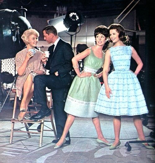 May 1961.Doris Day and Tony Randall. I liked movies where people sang and danced a lot.
