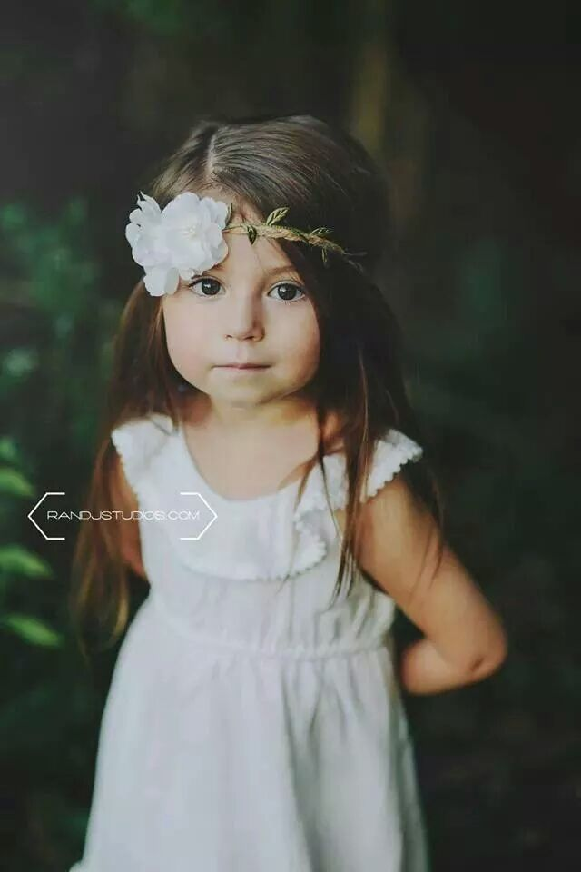 Three year old girl photography