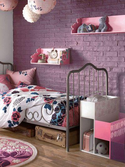 Une chambre de petite fille pour voir la vie en rose