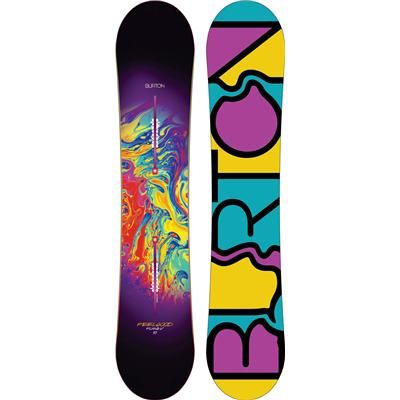 Burton Feelgood Flying V Snowboard - Women's 2014 -my sick new board!
