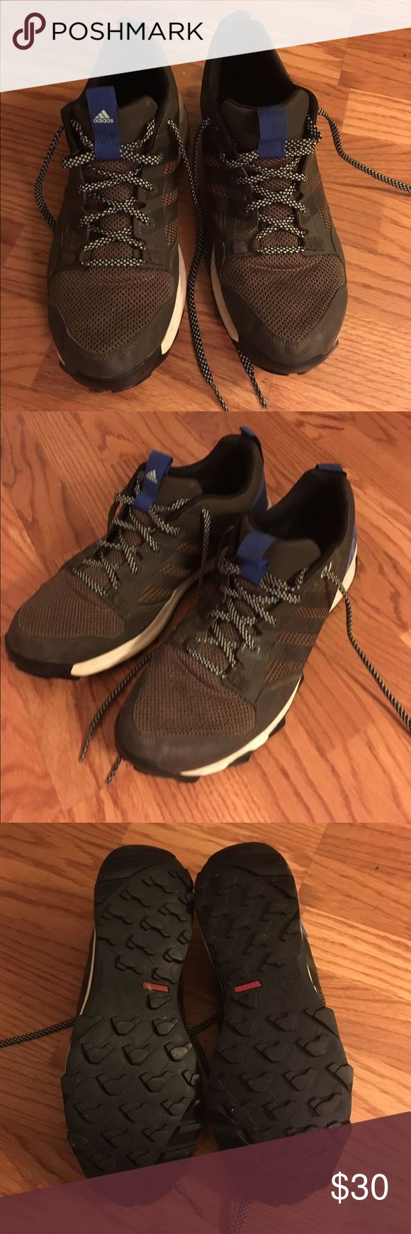 Men's addidas trail running shoes Only worn a few times. Like Nike trail running sneakers Adidas Shoes Sneakers