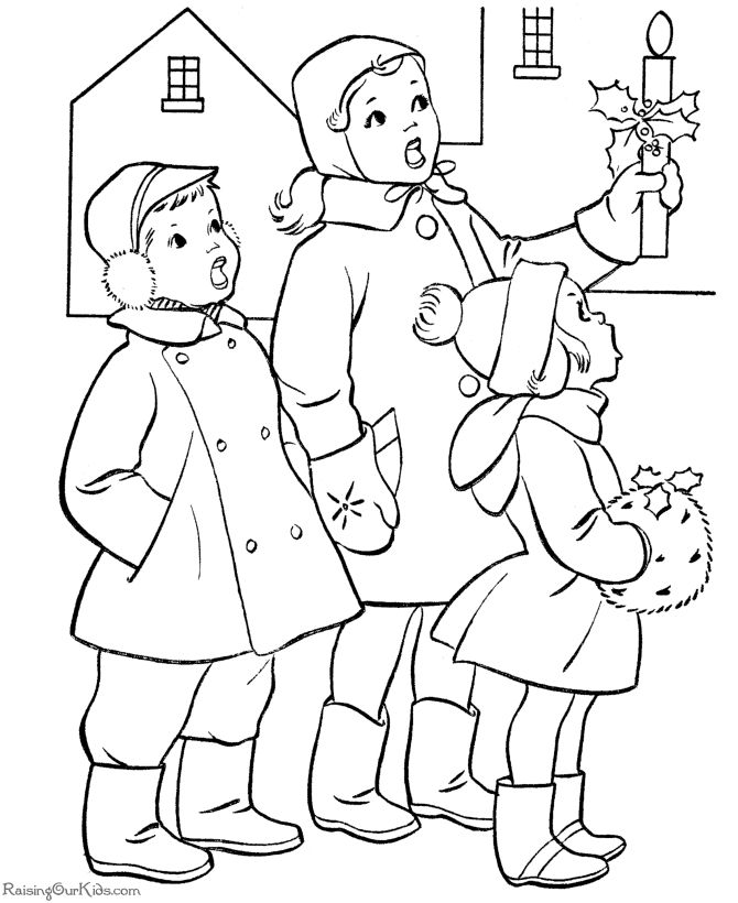 bible printables christmas scenes coloring pages kids christmas coloring home pages
