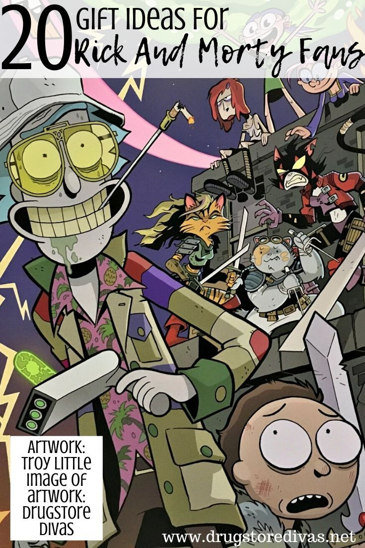 20 Gift Ideas For Rick And Morty Fans Drugstore Divas Rick And Morty Rick And Morty Characters Morty