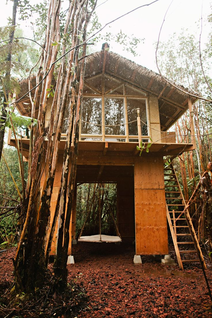 Tiny houses on stilts - Tiny House On The Big Island Kristie S 2nd Tiny House Build This One