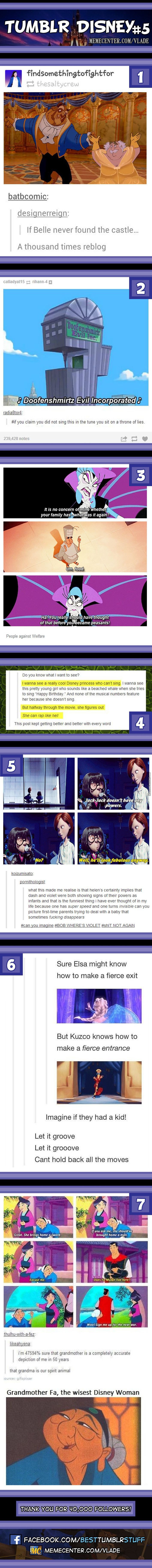 Tumblr Disney #5 love the last one! i am definitely going to become Mulan's grandmother when I'm old!