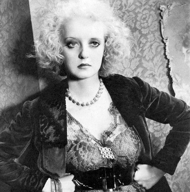 """Bette Davis as the first, authentic punk rock girl. (from """"Of Human Bondage"""")"""