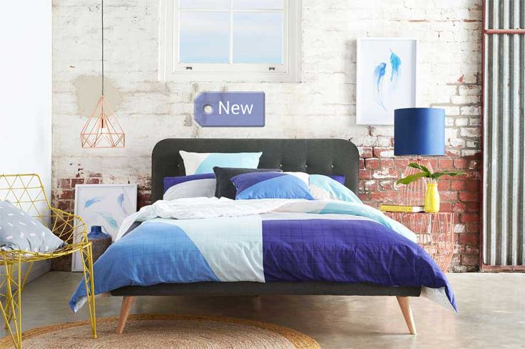 Alma Double Upholstered Bed | Bedshed