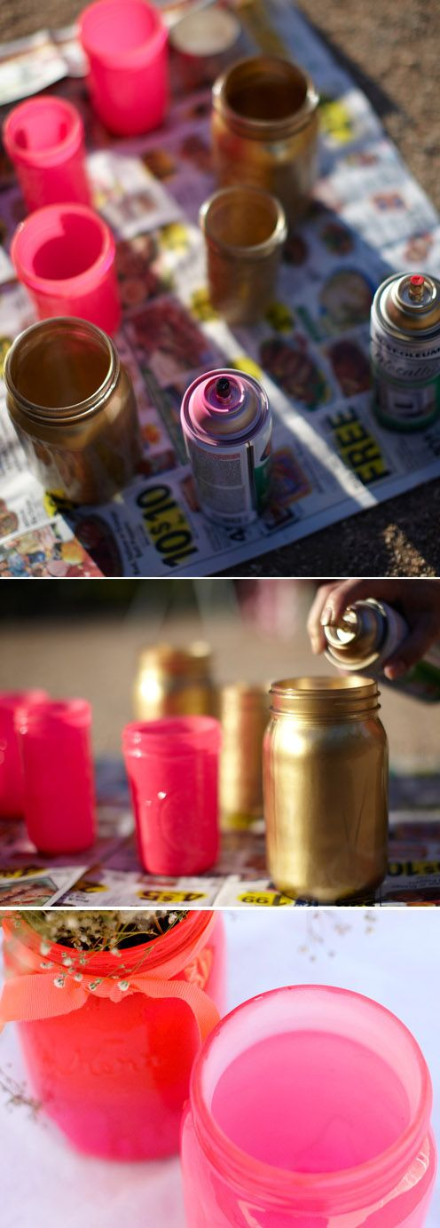 40 Easy Things To Do With Mason Jars http://www.architectureartdesigns.com/40-easy-things-to-do-with-mason-jars/