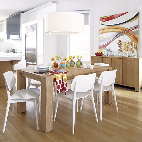 """Big Sur Natural 65"""" Dining Table in Dining Tables 
