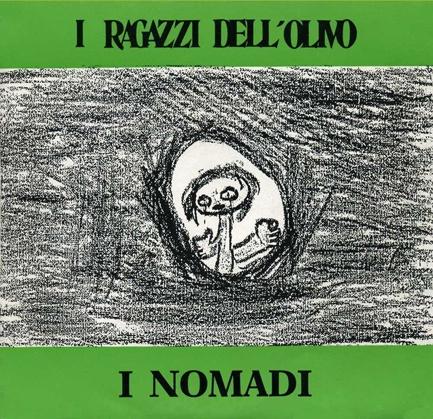 "Augusto Daolio 1989 I Nomadi - I Ragazzi Dell'Olivo (7"") [Nomadi NOM-100] #albumcover #Prog-Rock"