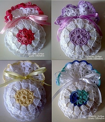 FREE PATTERN ~ SCROLL DOWN FOR PATTERN ~ sachet senteur A