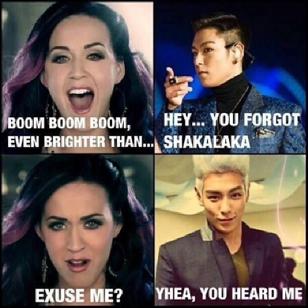 Katy Perry <3 TOP ~ #Kpop #Funny #FantasticBaby
