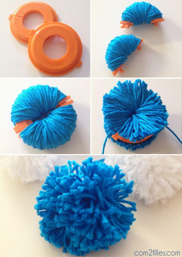 DIY - pompons en laine