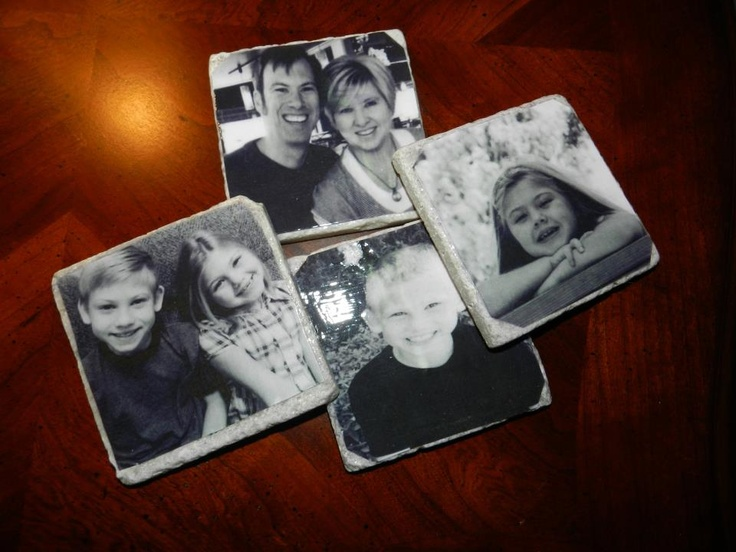 love these coasters my sister made for me!! ~homemade Christmas gifts