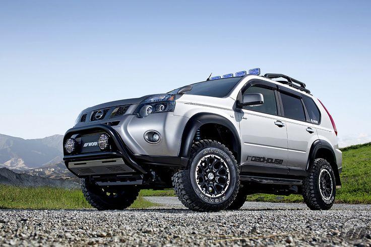 Modified Nissan X-Trail | All sizes | ROADHOUSE Nissan X-Trail on WORK Crag BJS…