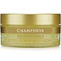Champneys Body Glow - use twice a week massaging the body glow into skin before bathing.  Rinse well.