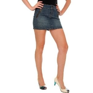 Blue Zip Pocket Jean Skirt (Apparel)  http://documentaries.me.uk/other.php?p=B0049EDRPI  B0049EDRPI