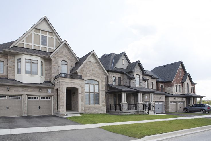 Some of our homes in our Aurora Trails community.