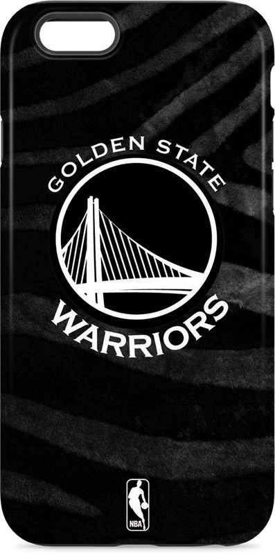 Golden State Warriors Black Animal Print iPhone 6 inkFusion Pro Case. Available…