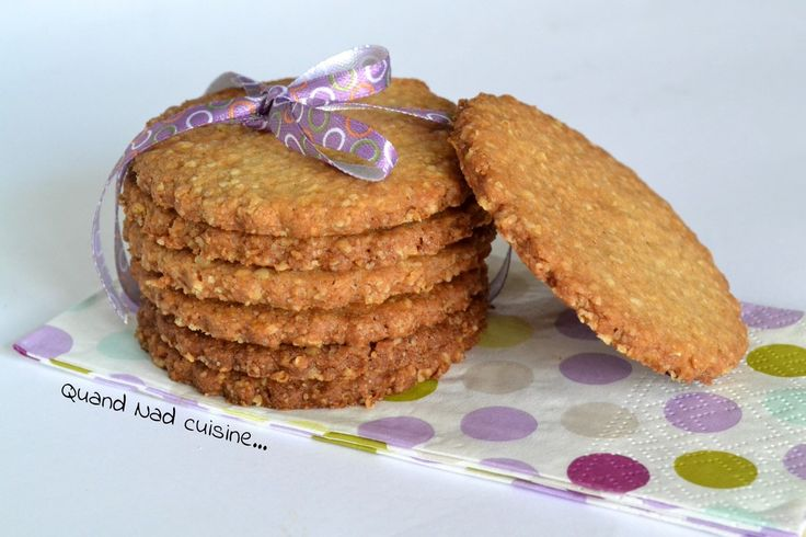 Digestive biscuits (biscuits anglais) - Quand Nad cuisine...