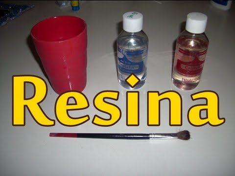 Usos de la resina o vidrio liquido - YouTube