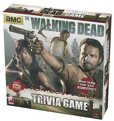 The Walking Dead Walking Dead Trivia Game