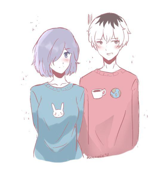 tokyo ghoul touka and kaneki relationship goals