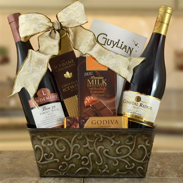 27 best Wine Gift Baskets images on Pinterest   Wine gifts, Wine ...