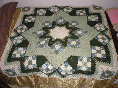 Christmas Star Afghan Crochet Patterns Patterns Kid