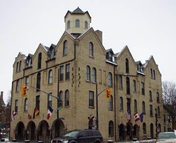 The Arlington Hotel, Paris, Ontario