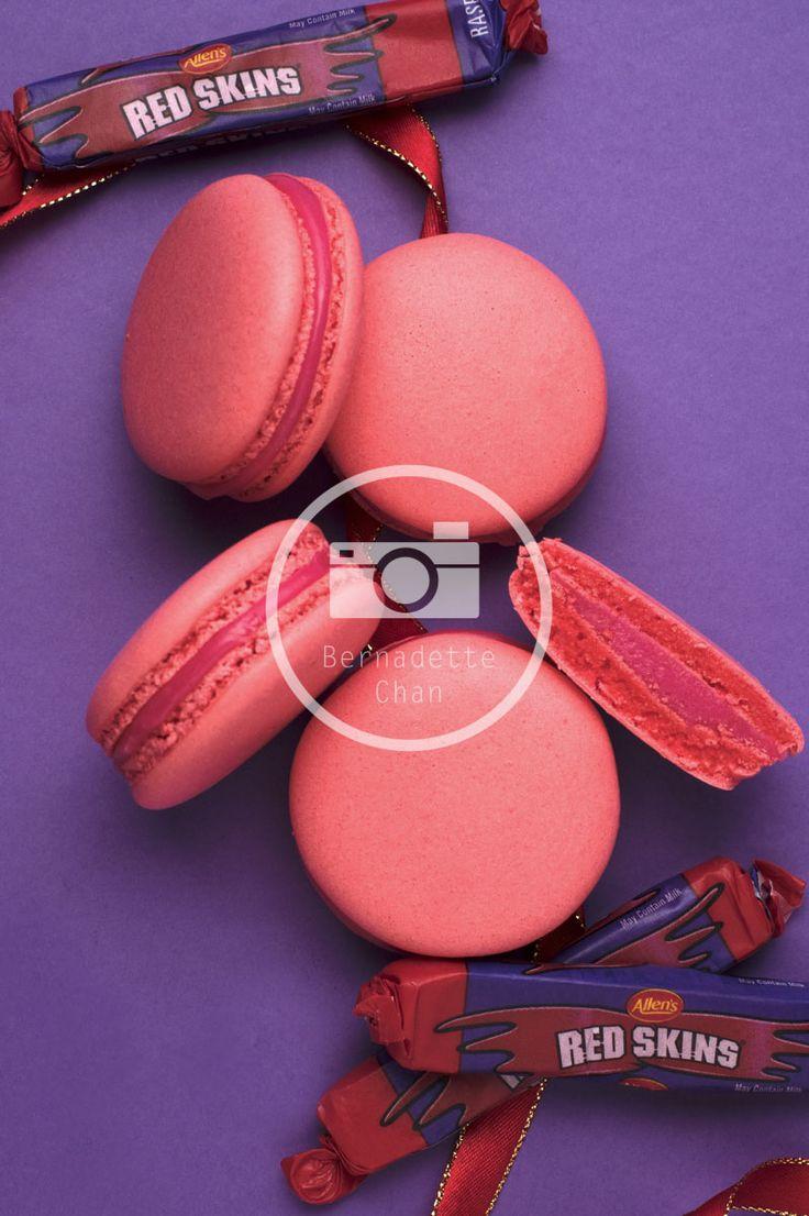 Redskins Macarons