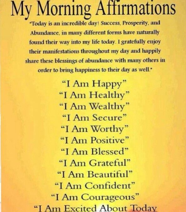 Affirmations - combine these with EFT tapping, and watch ...