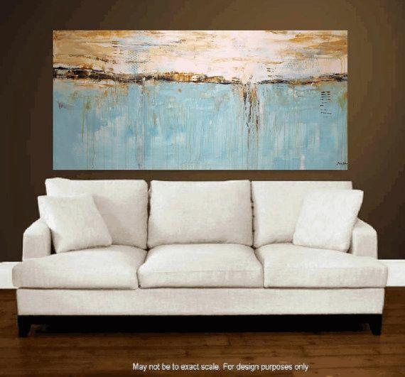 Art peinture, grand art abstrait, peinture, Art, peinture acrylique, décoration murale de Jolina Anthony abstrait