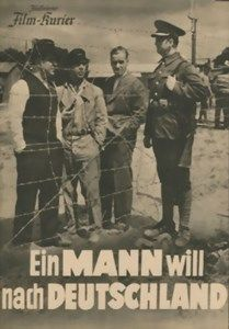 Ein Mann will nach Deutschland (1934) = El hombre que quiso ir a Alemania dirigida por Paul Wegener interpretada por Karl Ludwig Diehl und Brigitte Horney