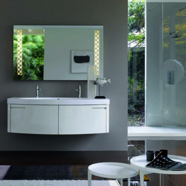 Το λευκό έπιπλο αποτελεί μια ασφαλή επιλογή για το μπάνιο www.kypriotis.gr - #kypriotis #kipriotis #plakakia #plakidia #anakainisi #athens #ellada #greece #hellas #banio #dapedo
