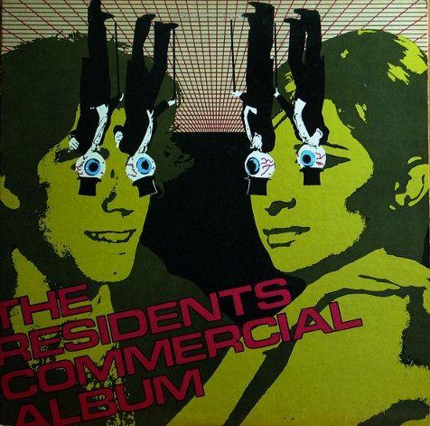 The Residents 1st Press US LP! Authentic Vintage 1980! The Residents  Commercial Album Ralph Records RZ 8052-L Near Mint