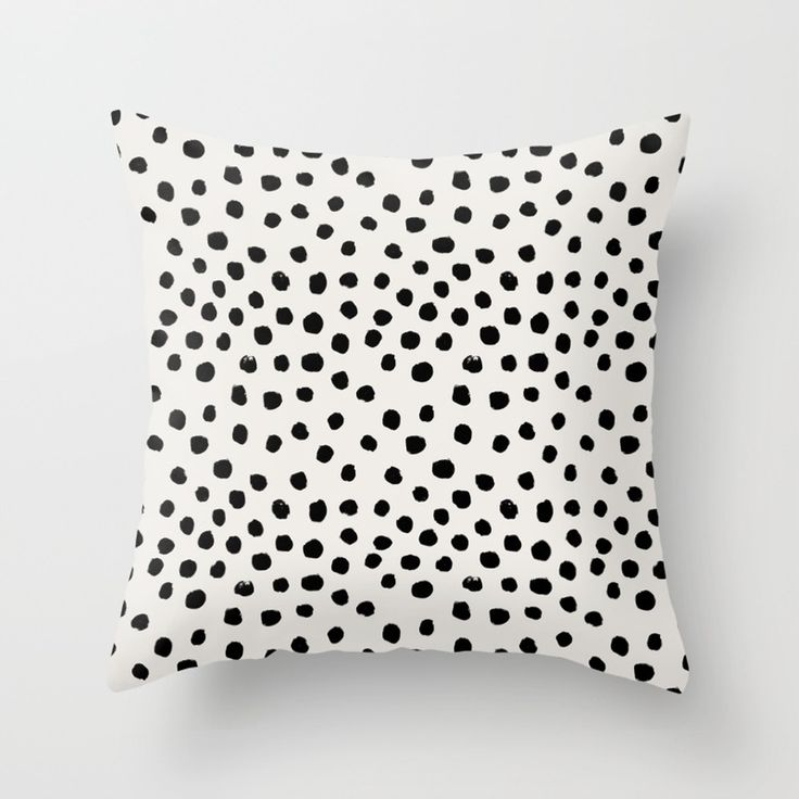 "Shop for ""black white"" throw pillows and adorn your home with both style and comfort. Choose from unlimited designs by thousands of artists from around the world. Worldwide shipping available at Society6.com."